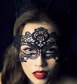 Ericdress Lace Hollow Out Sex Mask