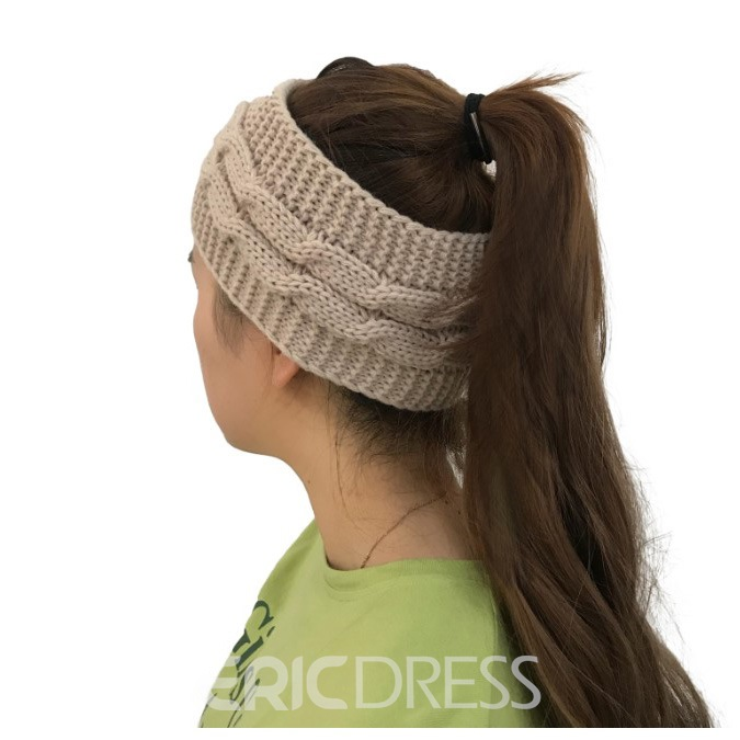 Ericdress Stylish Pure Color Women's Hat