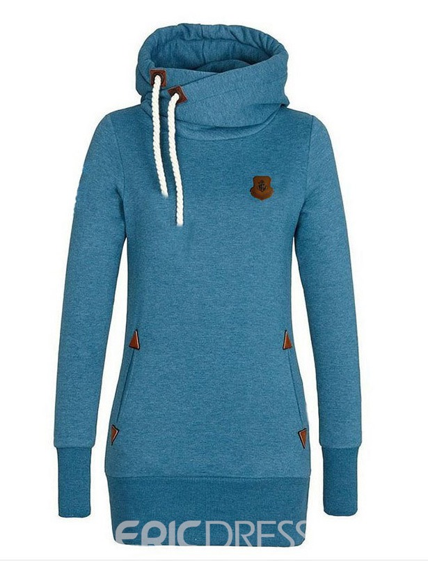 Ericdress Hooded Pullover Casual Mid-Length Cool Hoodie