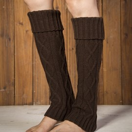 Ericdress Knee Leg Warmers Boots Socks
