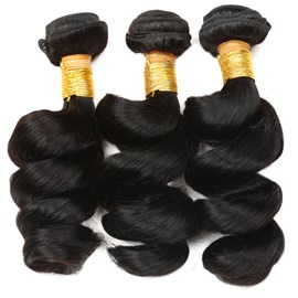 Ericdress Unprocessed Brazilian Hair Loose Wave Hair Bundles Virgin Human Hair Extensions 300g