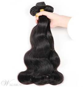 Ericdress Body Wave Virgin Human Hair Bundles Wavy Hair Extensions 300g