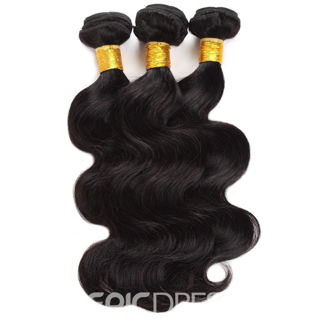 Ericdress Unprocessed Malaysian Human Hair Extensions Virgin Hair Body Wave Hair Bundles