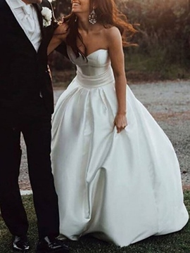 Ericdress A-Line Sweetheart Outdoor Wedding Dress