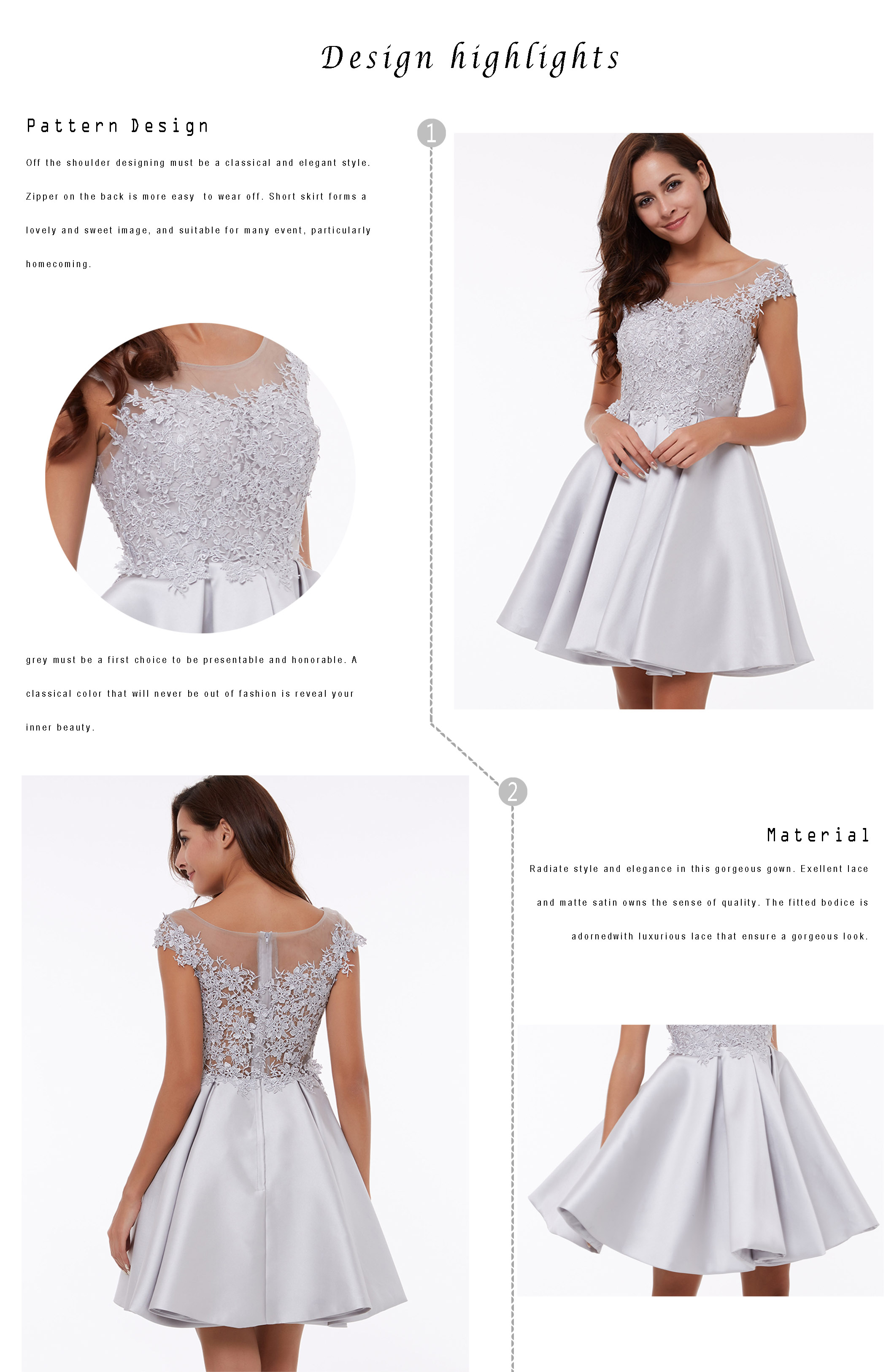 P style dress material