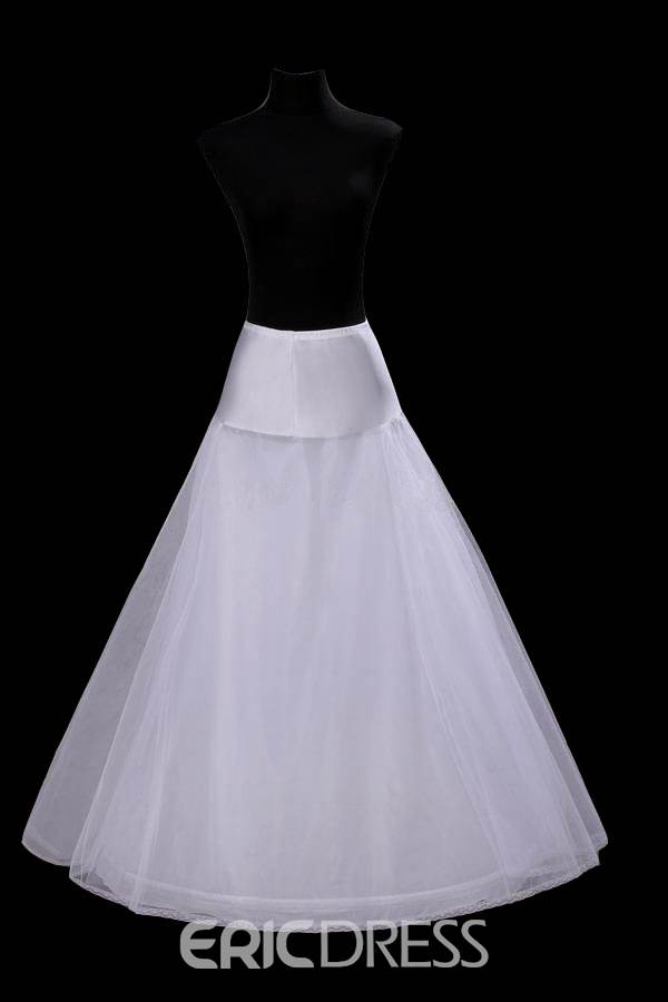 Fancy A-Line Style Gauze Wedding Petticoat