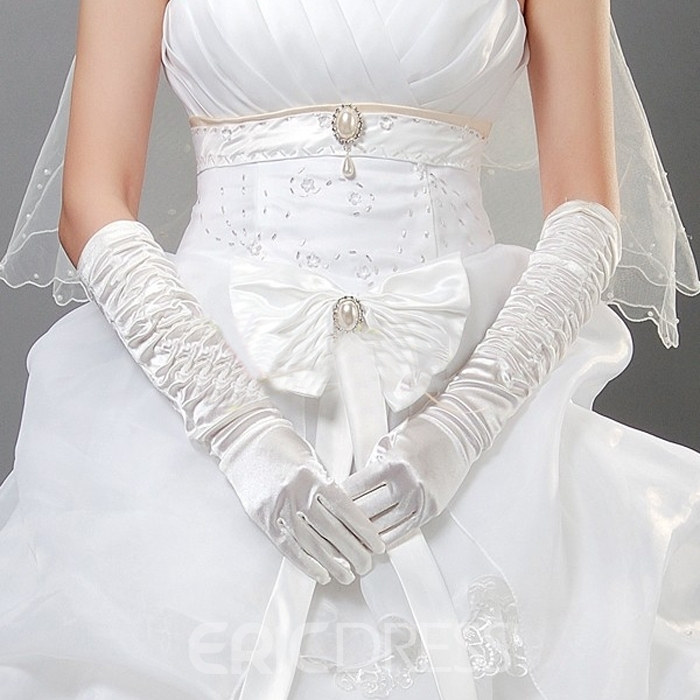 Fabulous Long Wedding/Prom Gloves(5COLORS)