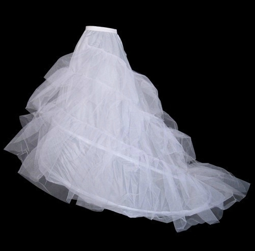 Ericdress Pretty Organza Petticoat with Tailing Wedding Petticoat