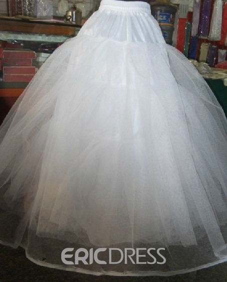 Graceful Organza Petticoat with No Steel Ring