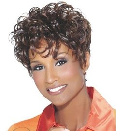 Ericdress Natural Curly African American Hairstyle Short Women Wig 8 Inches