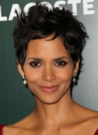 Ericdress Halle Berry's Hairstyle Natural Synthetic Straight Hair Capless Wig