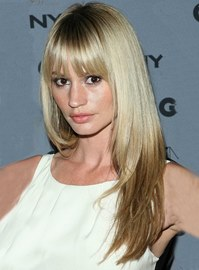 Ericdress Long Straight 100% Human Remy Hair with Full Bang Capless Wigs 18 Inches