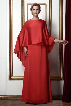 Gorgeous Bateau A-line Floor-length Mother of the Bride Dress