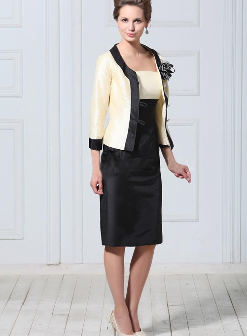 Attractive 3/4-length Sleeve Wedding/ Party Jacket