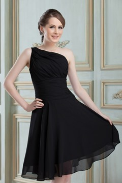 Ericdress Brilliant A-Line Sleeveless Knee-length Bridesmaid Dress