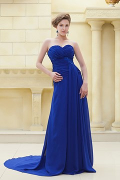 Vogueable A-Line Floor-Length Strapless Ela's Mother of the Bride Dress