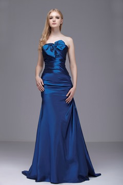 Gorgeous Sweetheart Floor-Length Brush Train Sasha's Evening/Party Dress
