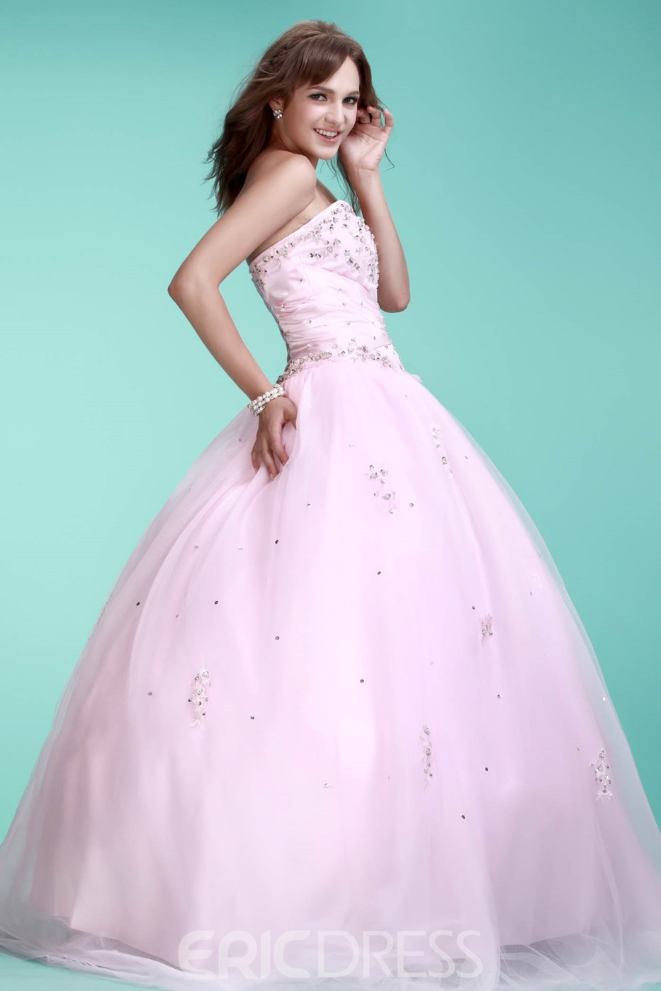Awesome Sweetheart Floor-Length Ela's Ball Gown Sweet Sixteen Quinceanera Dress
