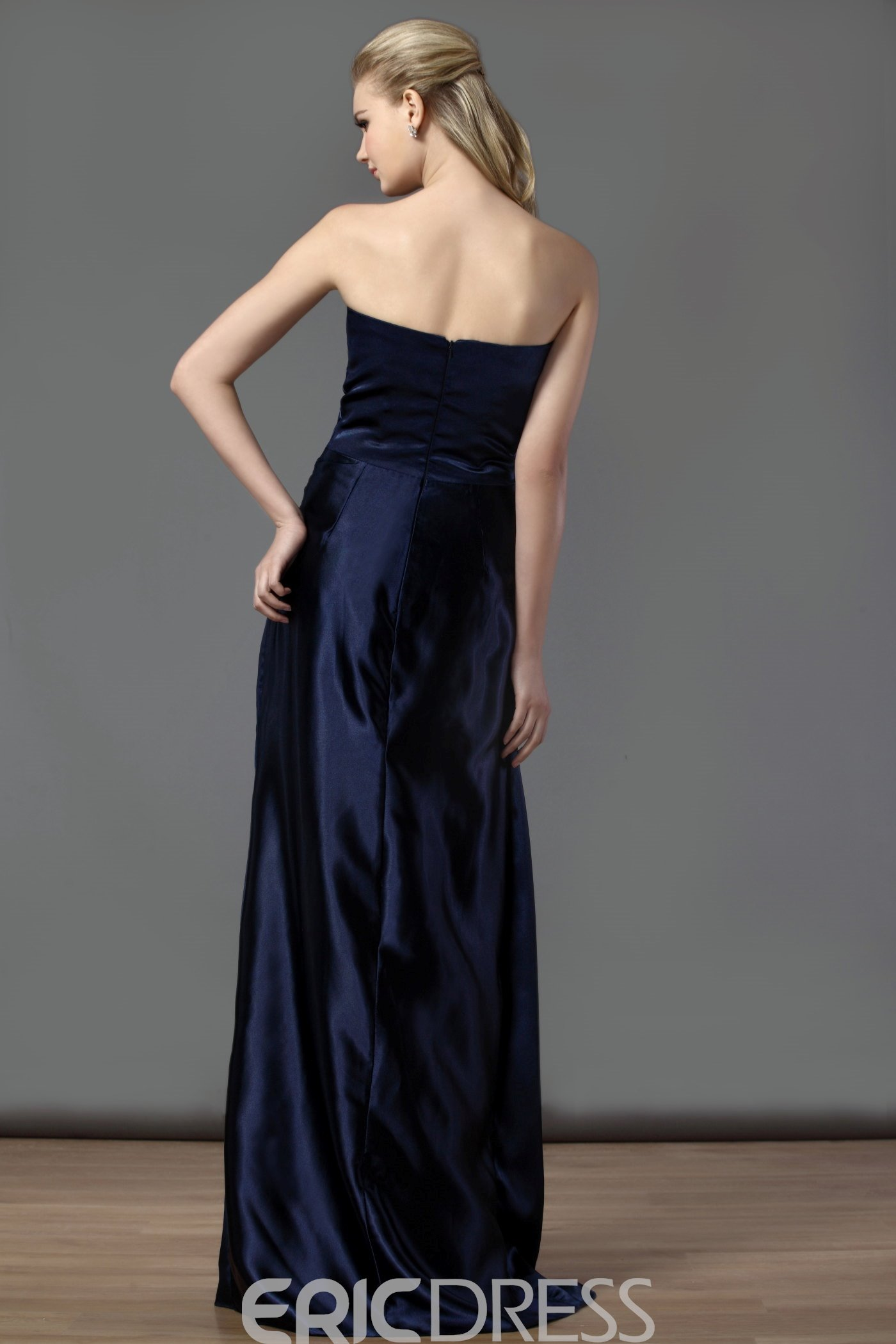 Attractive Mermaid/Trumpet Strapless Neckline Floor-Length Mother of the Bride Dress