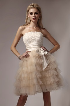 Prom/Homecoming Dress de Ericdress Sweet Mini Empire bretelles Dasha