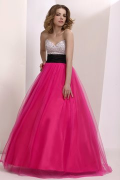 Wunderschöne Sweetheart Stock Länge Prom/Ball Gown Dress