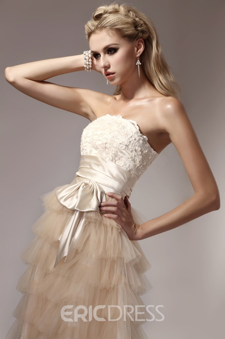 Ericdress Sweet Mini Empire Strapless Dasha's Prom/Homecoming Dress