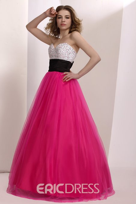 Gorgeous Sweetheart Floor Length Prom/Ball Gown Dress