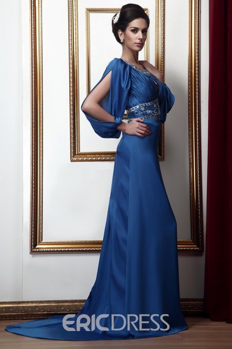 Sexy Sheath Long Sleeves Mother of the Bride Dress