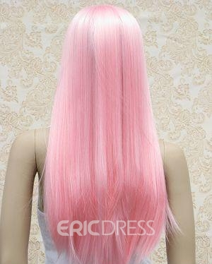 Ericdress Custom Cool Amazing Long Straight Pink Wig for Cosplay