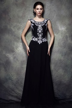 Ericdress Sequins Embroidery Mother of the Bride Dress