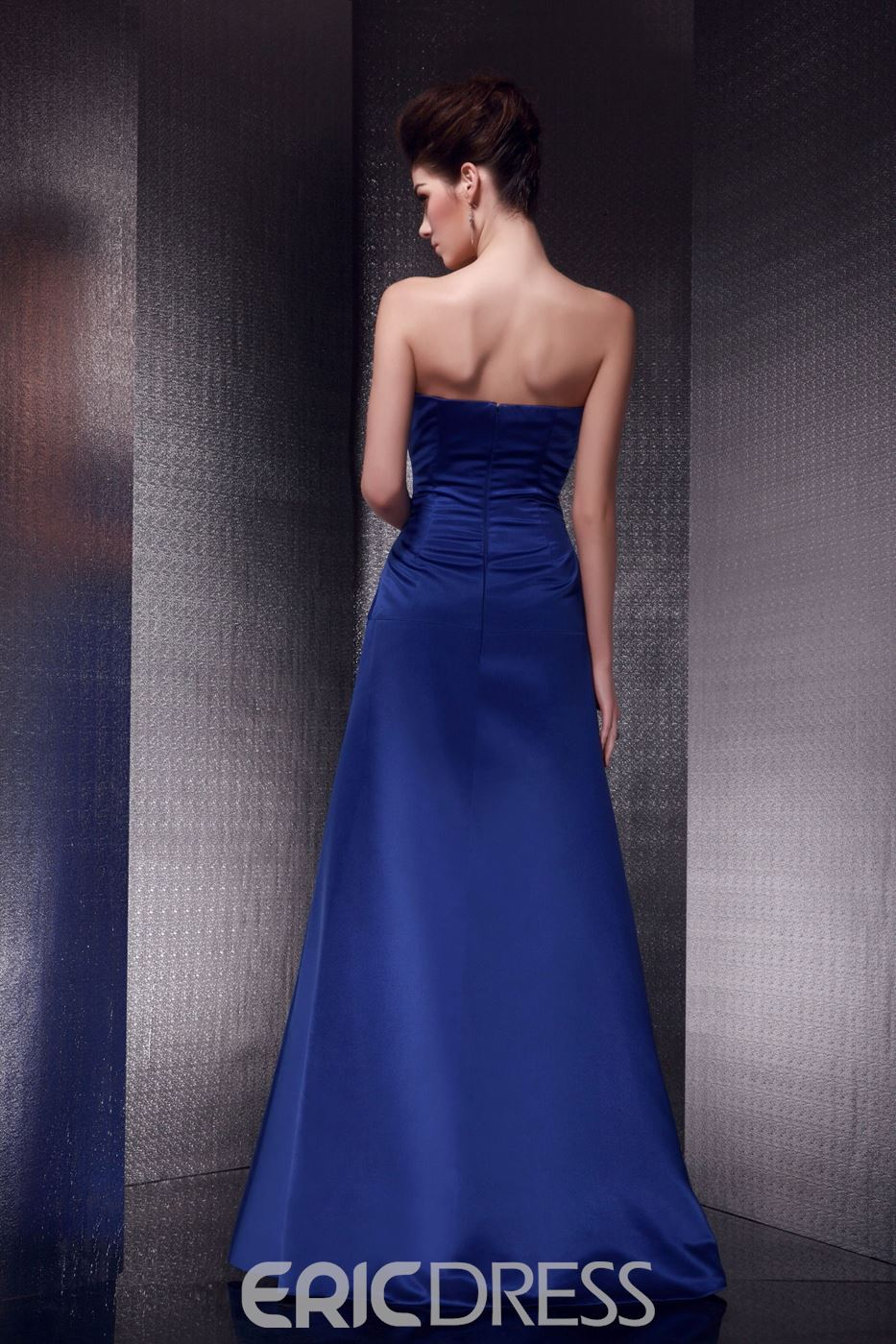Hot Elegant A-line Strapless Sleeveless Floor-length Olga's Mother of the Bride Dress With Jacket/Shawl