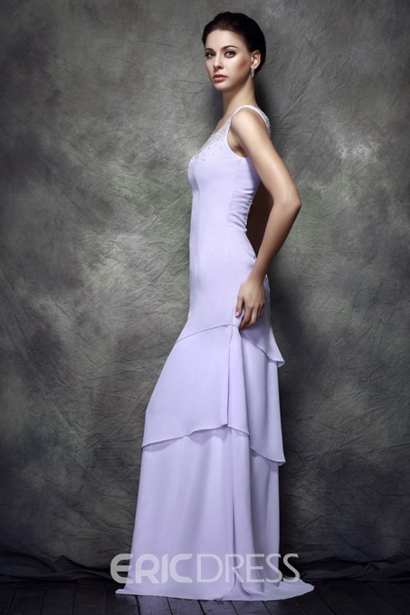 A-line Floor-length Mother of the Bride Dress With Jacket