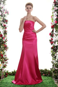 Bowknot Trumpet/Mermaid Floor-Length Carmeuse Yana's Bridesmaid Dress