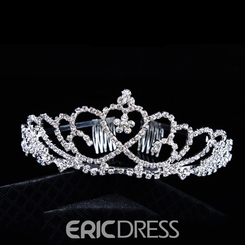 Faddish Alloy with Rhinestone Bridal comb