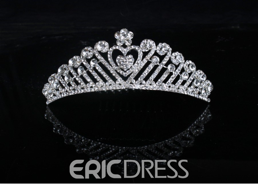 Alloy with Rhinestone Bridal Comb