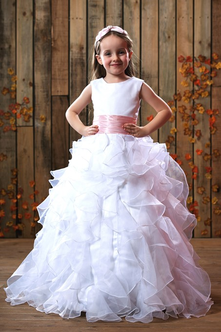 Ericdress Ball Gown Ruffles Flower Girl Dress