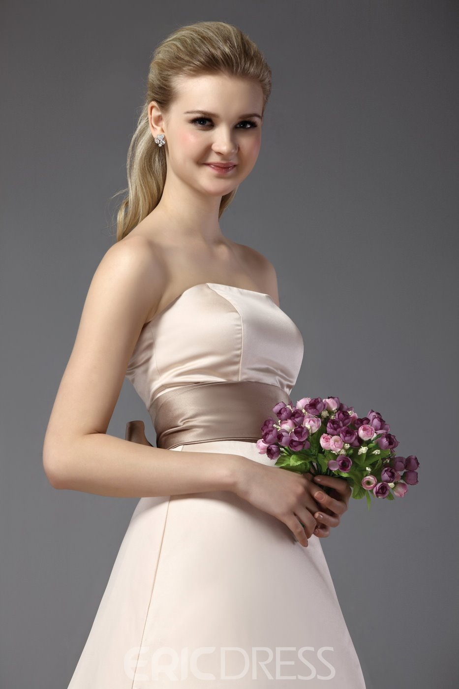 Gorgeous A-Line/Princess Strapless Bridesmaid Dress