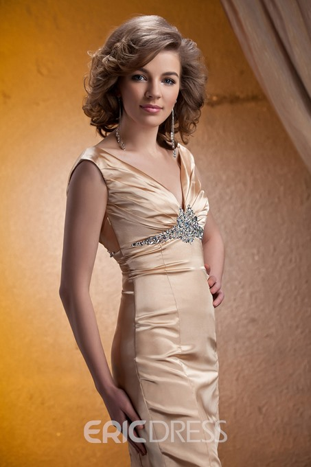Ericdress Sheath Knee-Length Mother of the Bride Dress With Jacket