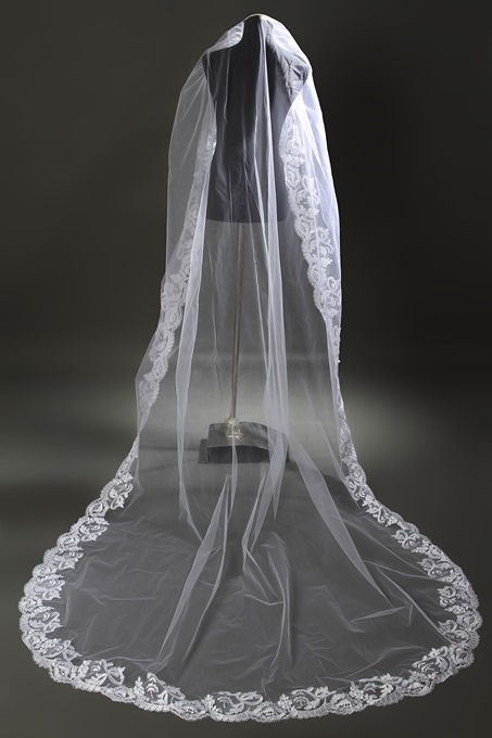 Ericdress Lace Edge Lace One-Layer Wedding Veil