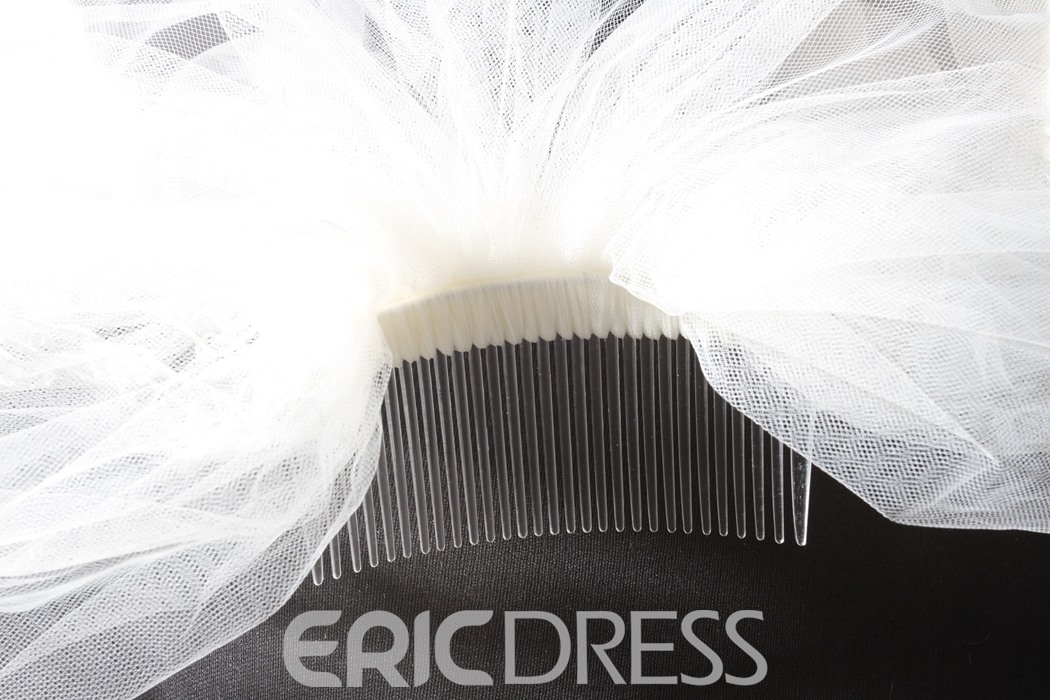 Ericdress Beautiful Double Layers Beading Wedding Veil