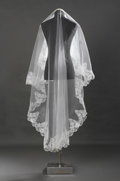Ericdress Lace One-Layer Lace Edge Wedding Veil