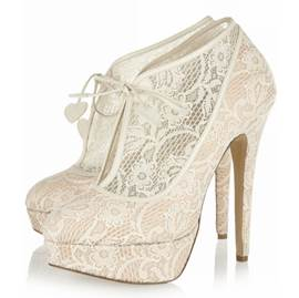 Sexy Lace Upper Stiletto Heels Prom/Evening Shoes