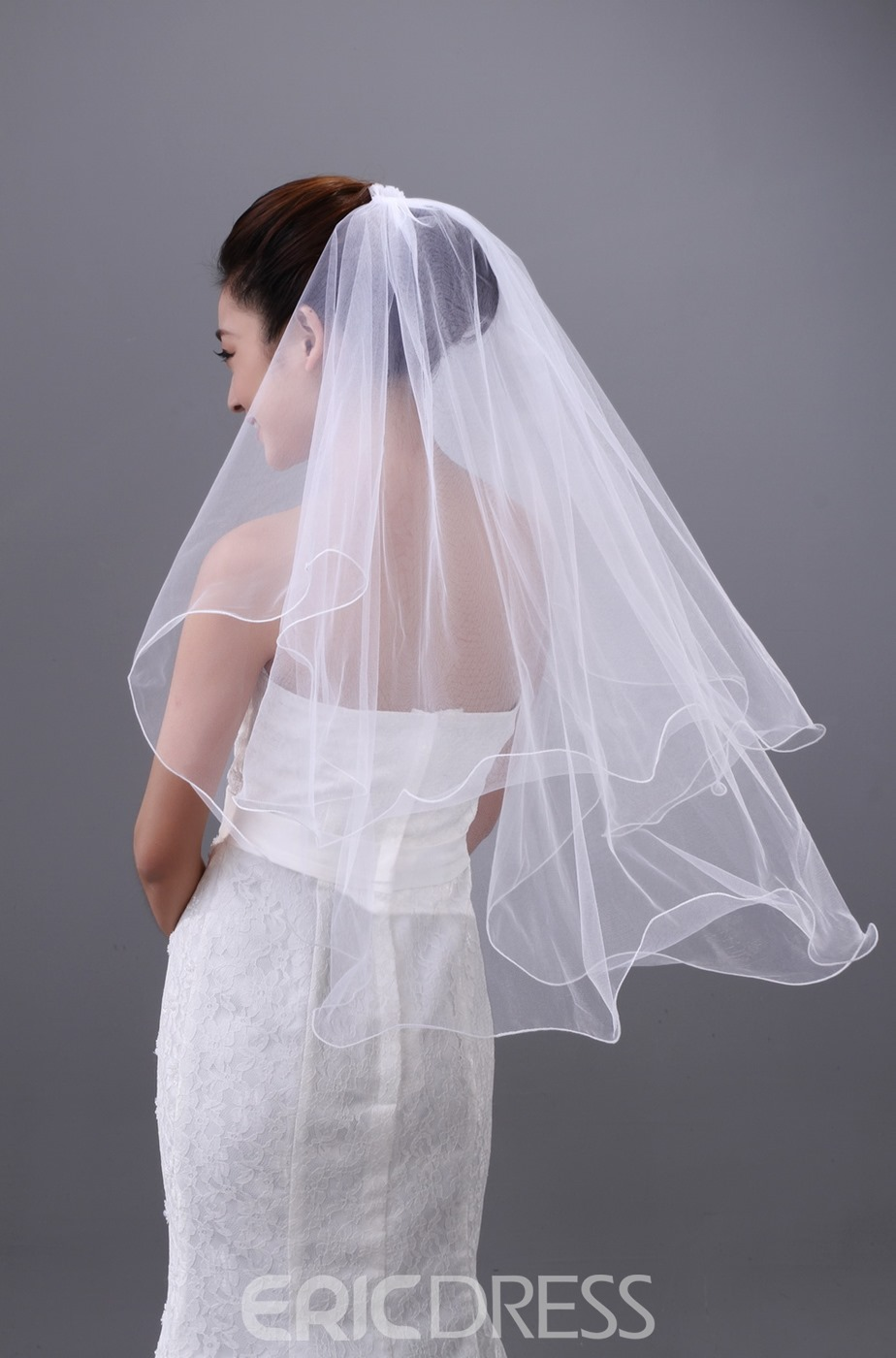 Elegant Elbow Two Layers Wedding Brail Veil