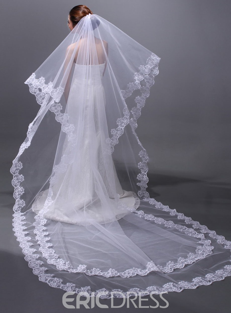 Special Cathedral Wedding Veil