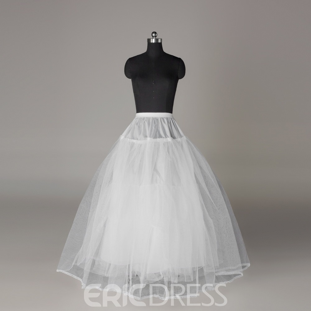 Elegant Three Layers Gauze Wedding Petticoat