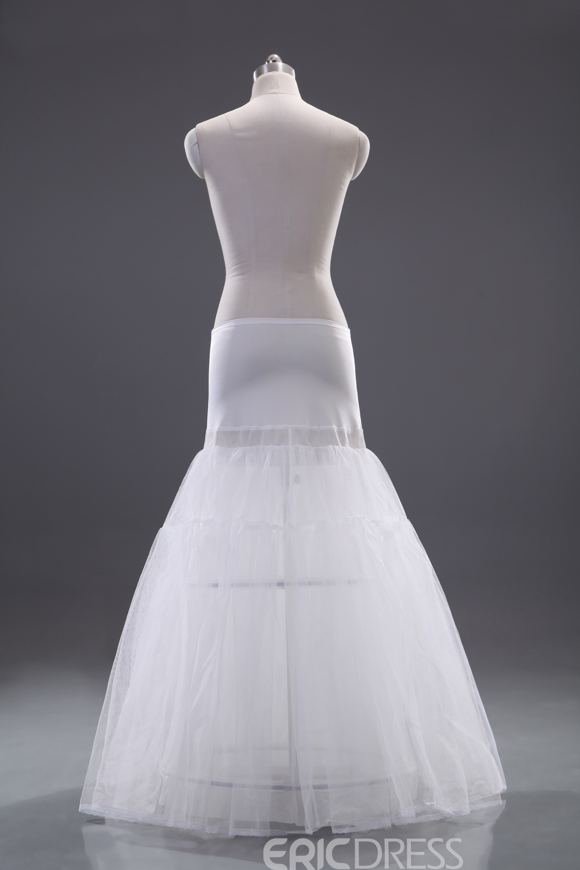 Noble Two Layers Dropped Waistline Wedding Petticoat