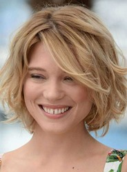 Ericdress Short Bob Hairstyle Wavy Human Hair Lace Front Wigs 10 Inches фото