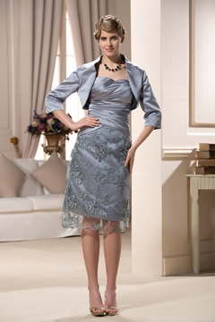 Attractive Sheath/Column Sweetheart Mother of the Bride Dress
