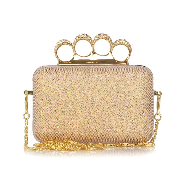 Shimmering Powder Evening/Wedding Handbag