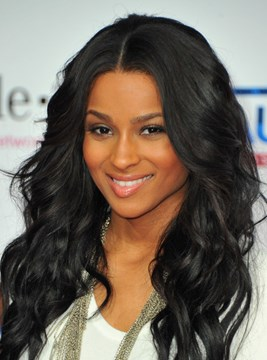 Ericdress Ciara Hot Sale Attractive Long Wavy Glueless Lace Front Wig 100% Human Hair 18 Inches